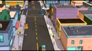 Something Bart simpson skateboarding naked