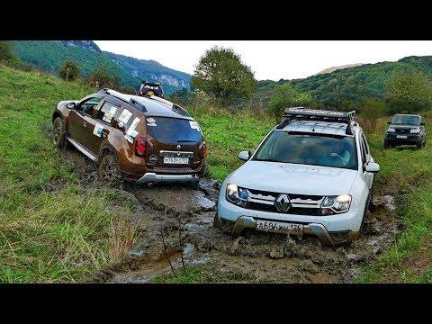 Сломать кардан на Дастере – легко! Штурм горы Баранаха и сплав на машинах по реке.