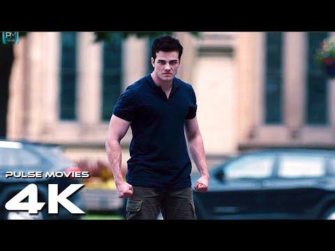 Superboy fights policemen Titans 2019