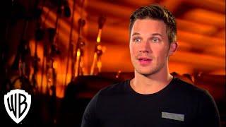 Justice League | Throne Of Atlantis - Matt Lanter -The Voice Of Aquaman | Warner Bros. Entertainment