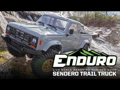 ASSOCIATED ELEMENT RC ENDURO TRAIL TRUCK SENDERO RT 1/10 EP 4WD CRAWLER