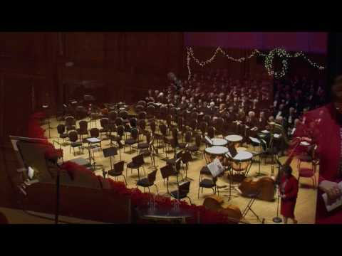 This is the Dana Symphony Orchestra performing in the annual Carols and Cocoa Concert 2016