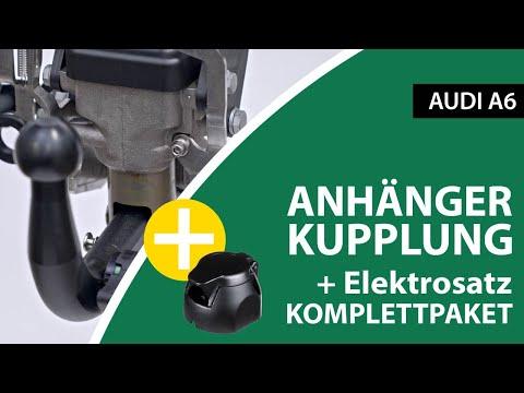 Anhängerkupplung schwenkbar AUDI A6    Brink Komplettsatz + Montage von Rameder