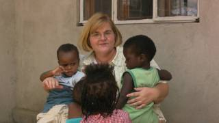 preview picture of video 'Fay visits with children of the Baby Home'
