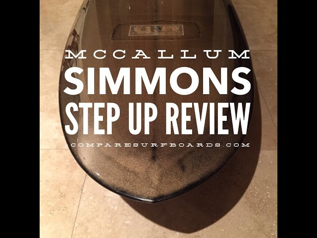 McCallum Surfboards Simmons Step Up Surfboard Review no.109 | Compare Surfboards