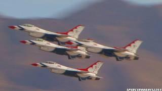 Aviation Nation 2011 - U.S.A.F. Thunderbirds Complete Demonstration