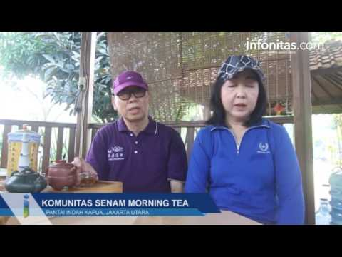 Komunitas Senam Morning Tea