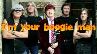 ACDC - Boogie Man (Lyrics)