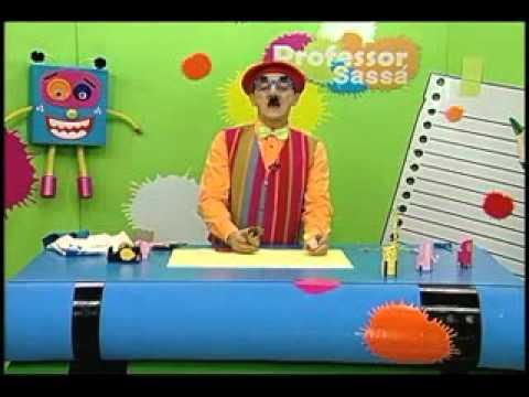Bichinhos com rolo de papel - Professor Sassá