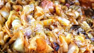 How to make the Best smothered Cabbage!!!