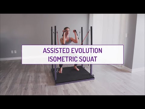 Assisted Evolution Isometric Squat