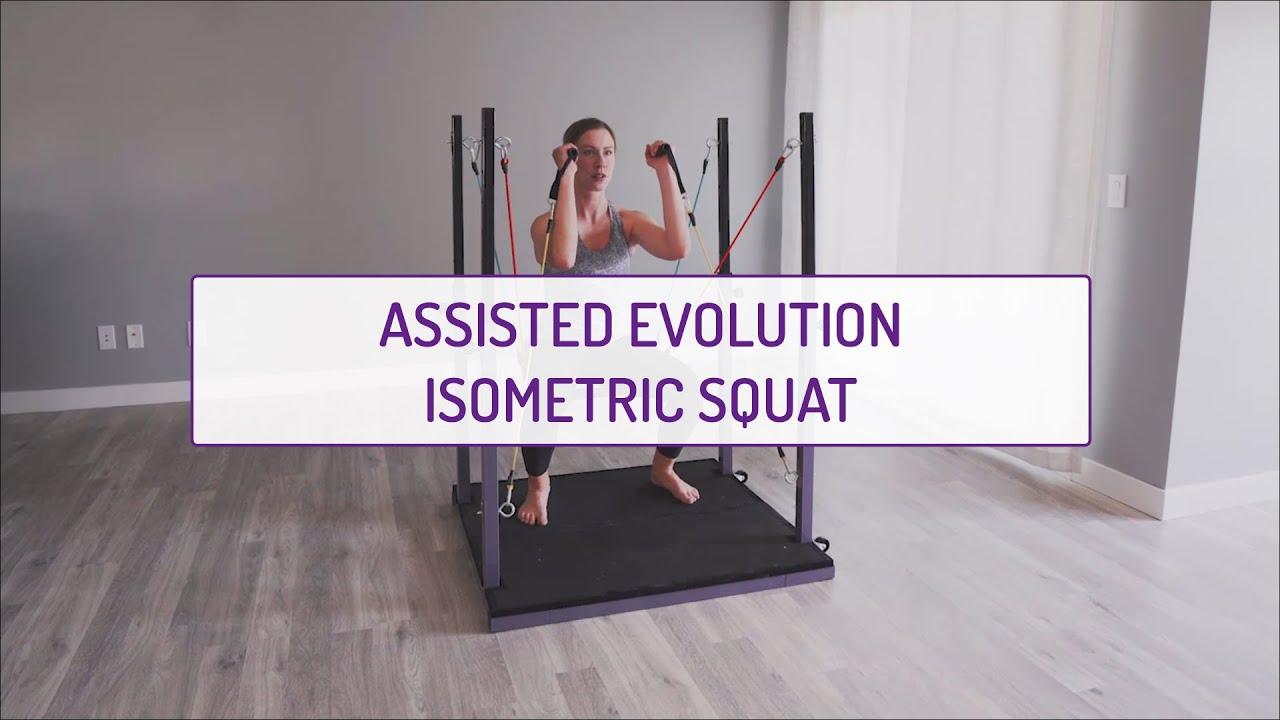 Assisted Evolution Isometric Squat