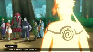 Naruto: Ultimate Ninja Storm 3: Full Burst - Madara Boss Battle (Best Version) HD