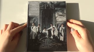 Unboxing 2PM 3rd Japanese Album GENESIS OF 2PM [Type A]