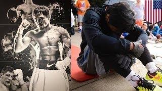 Nike разорвал контракт с Пакьяо за оскорбление геев