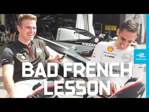 How to speak French, with Sebastien Buemi and Oliver Rowland! | ABB FIA Formula E Championship
