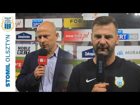 Trenerzy po meczu Widzew Łódź - Stomil Olsztyn 2:0
