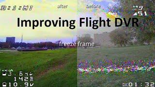 "Improve flight DVR. Magic in ""Davinchi Resolve"". Color grading and noise reduction"