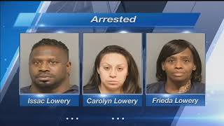 Lincoln Police arrest three serving a warrant