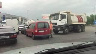 Ещё одна авария на окружной Киев 17.06.2017г.