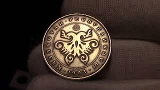Монета РК - 10 тенге 1993г