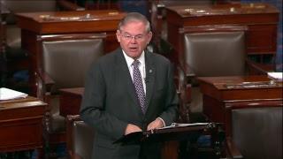 Menendez Calls for Action on Gun Reform on Senate Floor