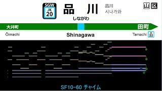 [MIDI]京浜東北線・根岸線発車メロディ/JRKeihinTohokuLine・NegishiLineTrainDepartureMelodies