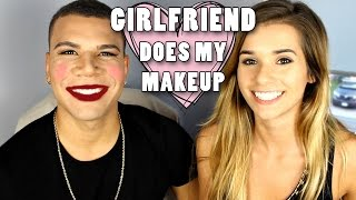 My Girlfriend Does My Makeup!