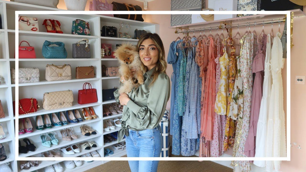 MY DREAM CLOSET & DRESSING ROOM TOUR! | Amelia Liana