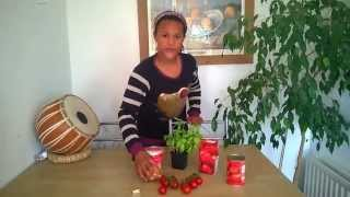 Aaliyah's easy tomato soup, anti cancer super food, simple recipes for kids cooking