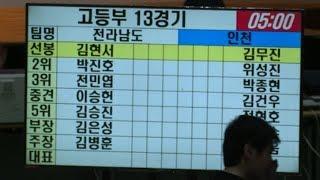 2019 서울 전국체전 검도경기 고등부 인천선발팀 VS 전라남도 선발팀
