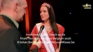 Delina Haeck op de finale van Miss Armenia Belgium