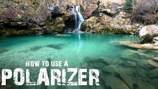 HOW TO use a POLARIZER filter in field review | Why you NEED a POLARISING FILTER!