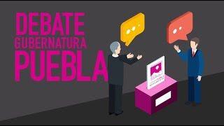 Conoce las reglas del debate a la Gubernatura de Puebla 2019