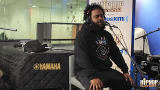 Bas Talks New Album Too High To Riot + J Cole's Role in His Success