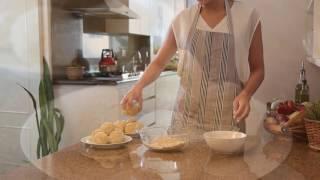 Fried Mashed Potato Balls   Hispanic Kitchen