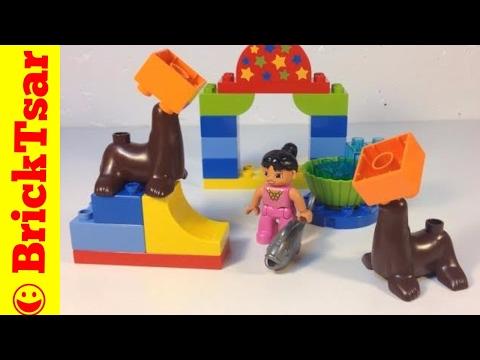 Vidéo LEGO Duplo 10503 : Le numéro des otaries