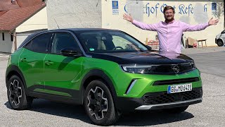 This Is A Bright Green Euro EV! Taking The Opel Mokka-e For A Drive In The German Countryside