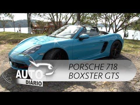 Porsche 718 Boxster GTS: o carro dos sonhos