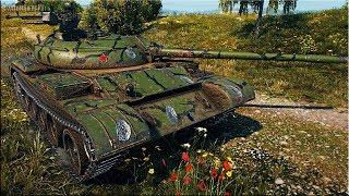 Т-54 МАСТЕР три отметки за БОЙ 🌟 World of Tanks лучший бой ст 9 СССР