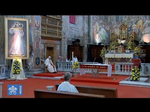 Messe du Dimanche de la Miséricorde avec le pape François