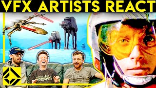 VFX Artists React to CLASSIC STAR WARS
