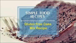 betty crocker gluten free yellow cake mix recipe