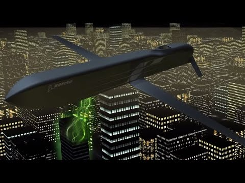 Boeing's CHAMP Missile Demo - Directed High Frequency Microwave Disables Electronics (EMP)