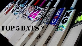 THE BEST 5 CRICKET BATS IN OUR STORE ALL MASSIVELY REDUCED