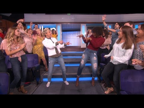 Ellen Gets Down with tWitch and Audience Dancer Imani