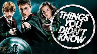 7 Things You Probably Didnt Know About Harry Potter
