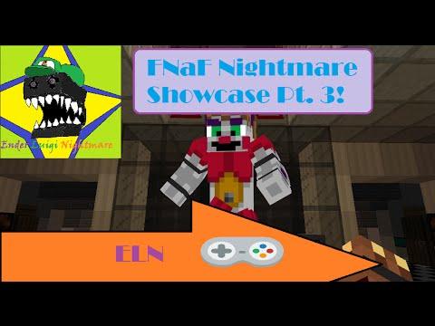 Samgladiator's FNaF Nightmare (NEW UPDATE!!) Minecraft Project