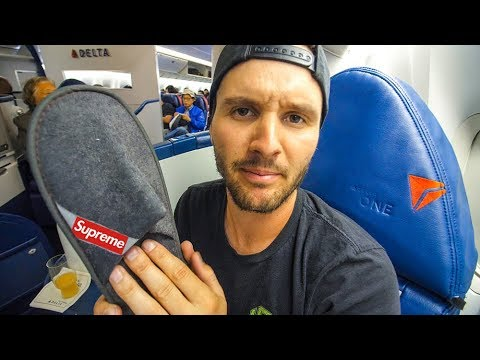 $1000 AIRPLANE SEAT VS $5000 DELTA ONE AIRPLANE SEAT