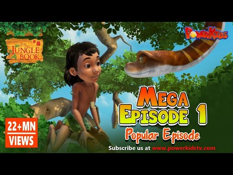 The Jungle Book Cartoon Show Mega Episode 1 | Latest Cartoon Series for Children